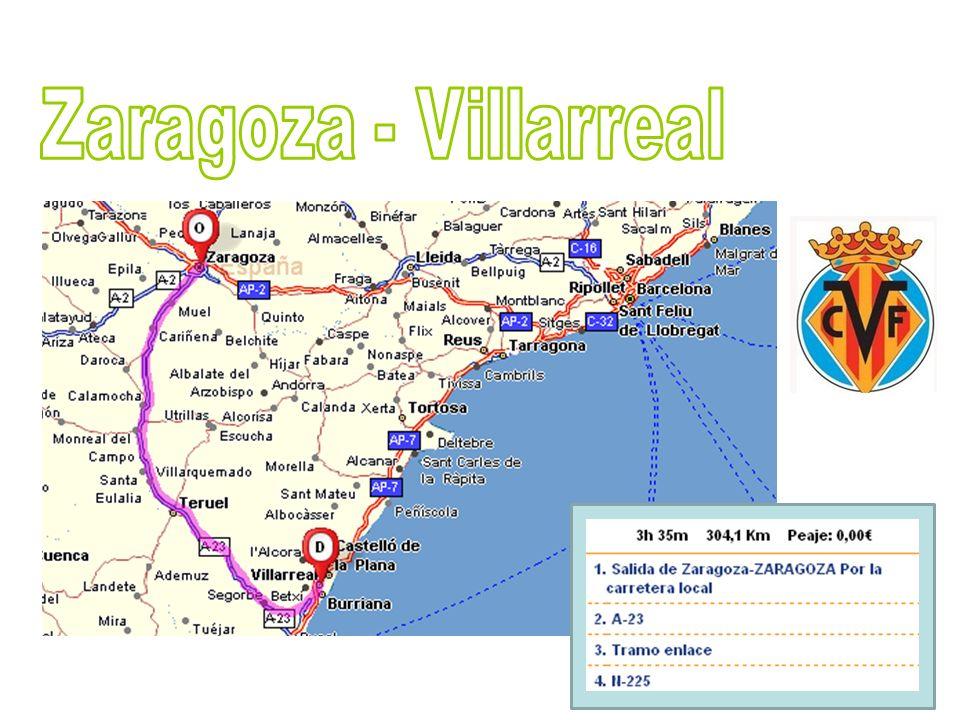 Zaragoza - Villarreal