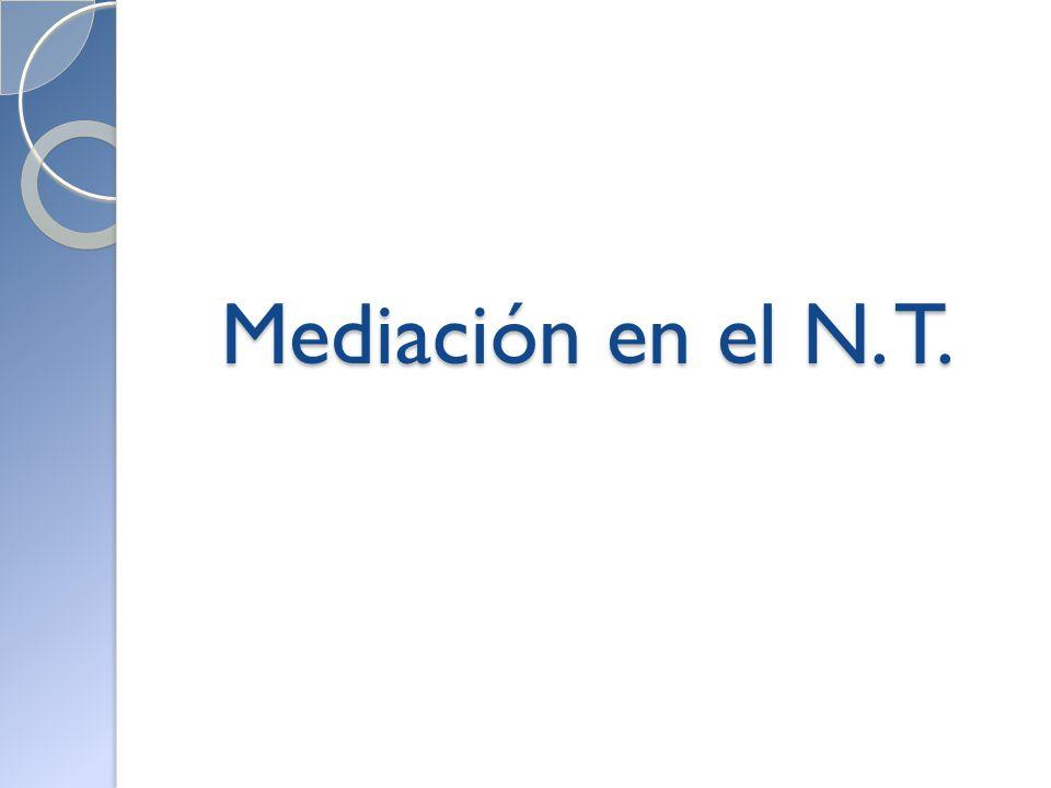 Mediación en el N. T.