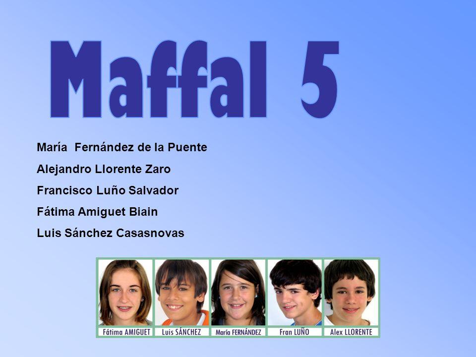 Maffal 5 María Fernández de la Puente Alejandro Llorente Zaro