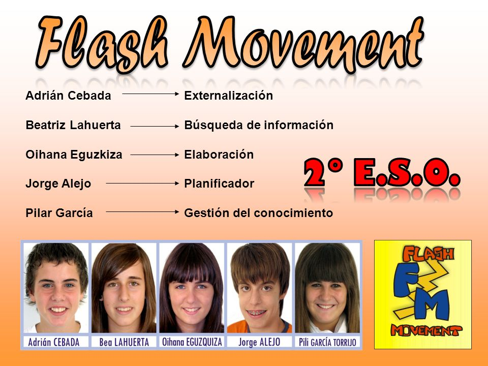 Flash Movement 2º E.S.O. Adrián Cebada Beatriz Lahuerta