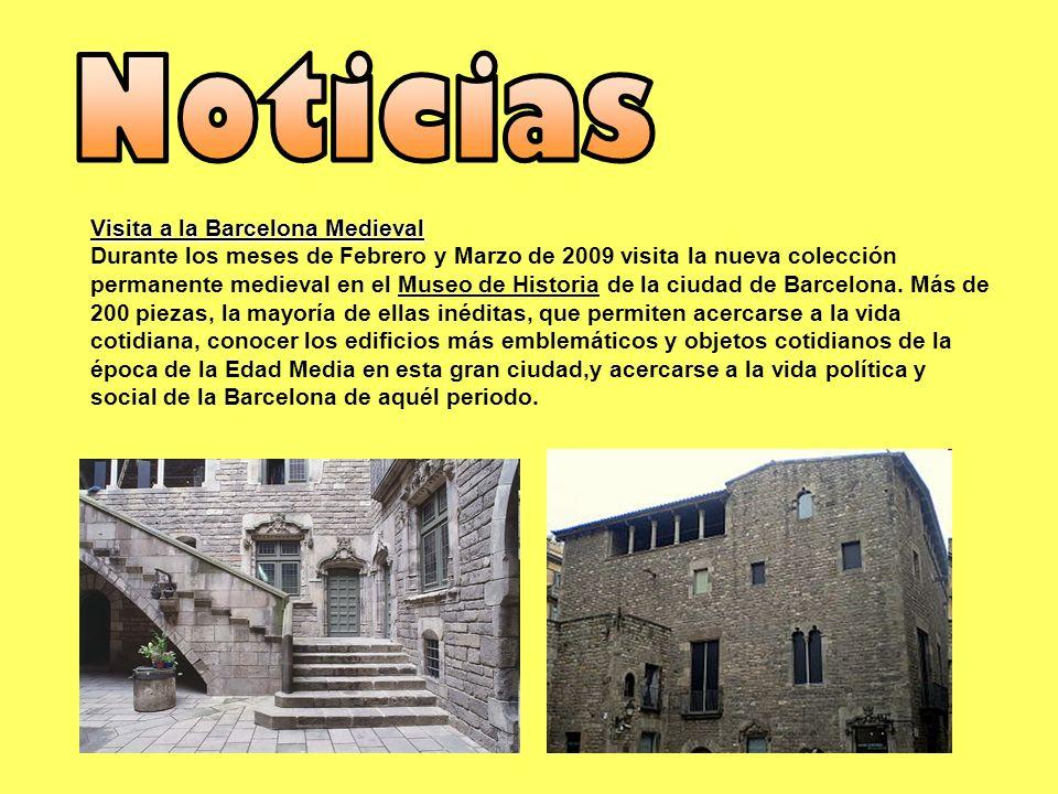 Noticias Visita a la Barcelona Medieval