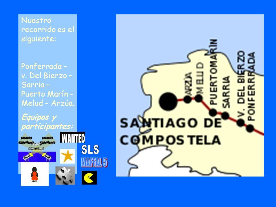 SLS MAFFAL 5 Nuestro recorrido es el siguiente: