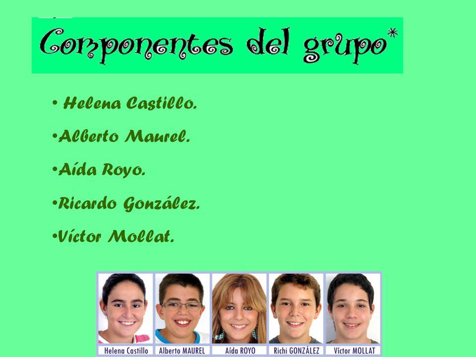 Helena Castillo. Alberto Maurel. Aída Royo. Ricardo González. Víctor Mollat.