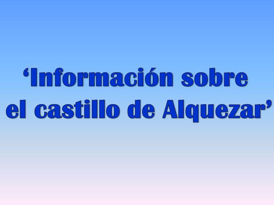 el castillo de Alquezar'