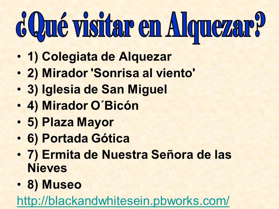 ¿Qué visitar en Alquezar