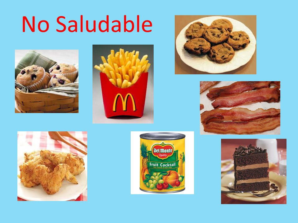 No Saludable