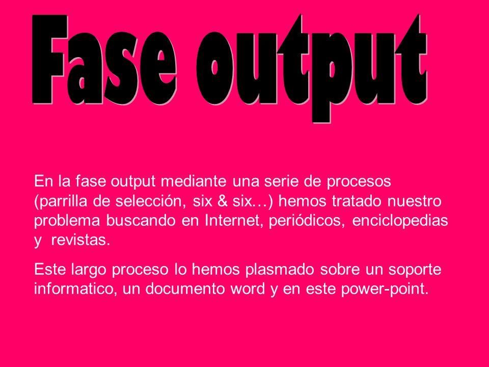 Fase output