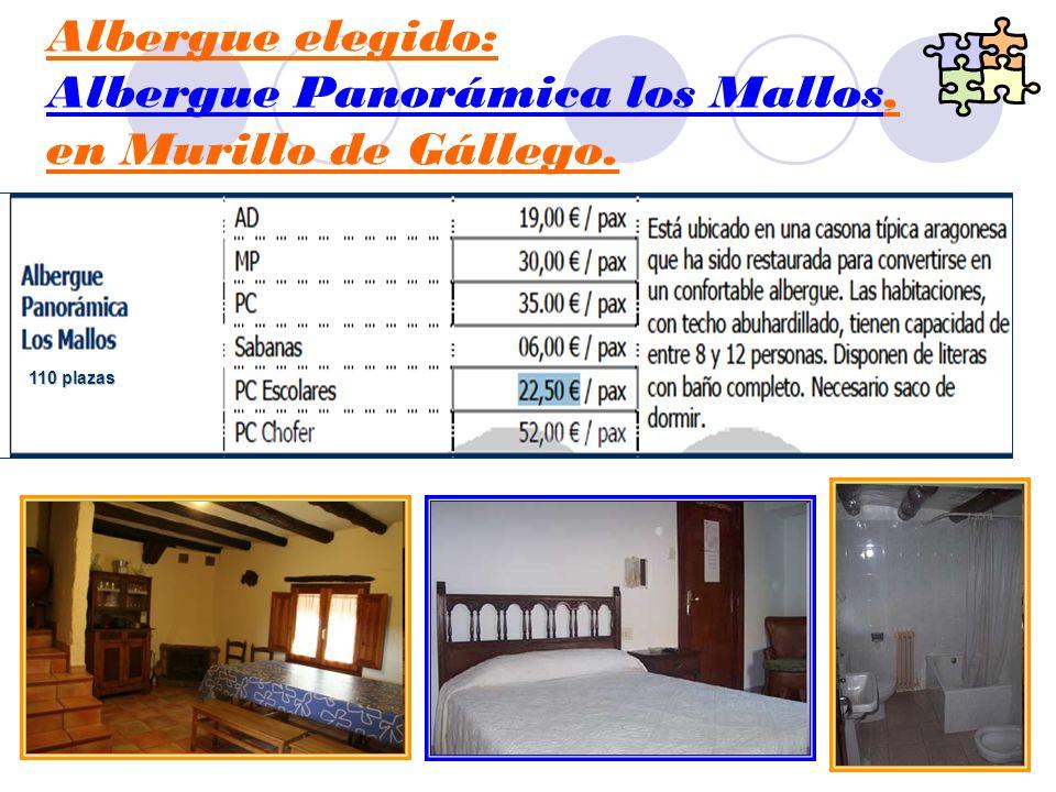 Albergue Panorámica los Mallos, en Murillo de Gállego.