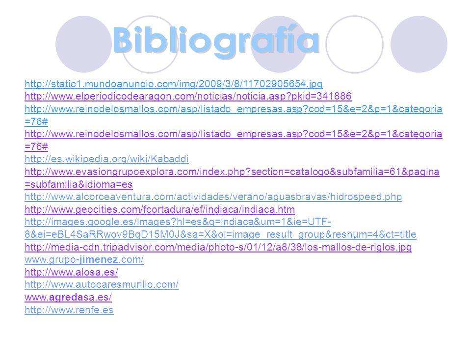 Bibliografía http://static1.mundoanuncio.com/img/2009/3/8/11702905654.jpg. http://www.elperiodicodearagon.com/noticias/noticia.asp?pkid=341886.