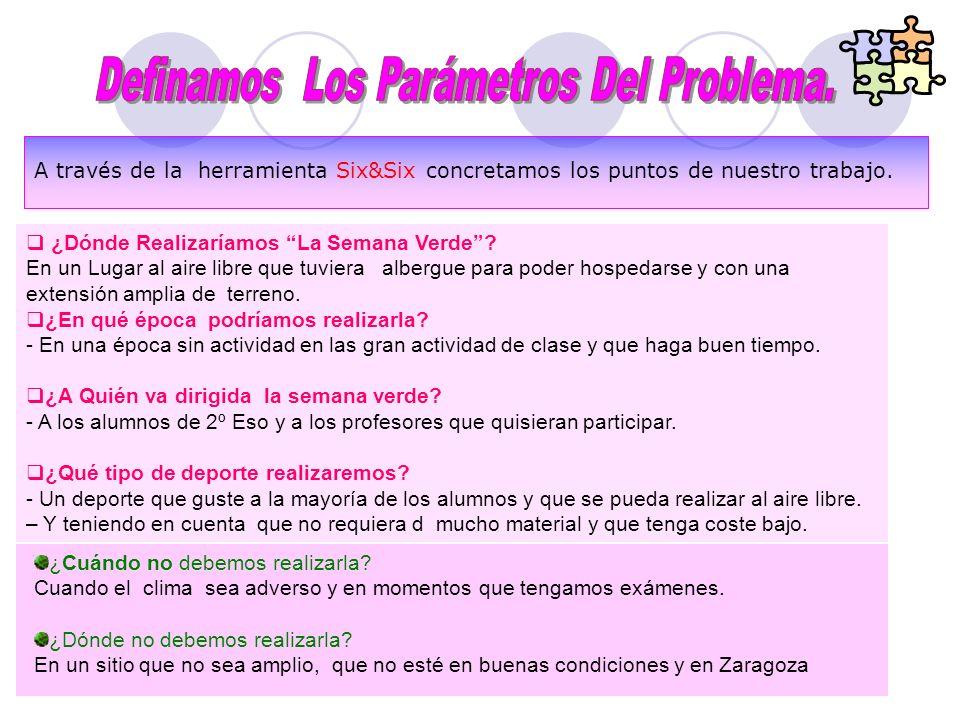 Definamos Los Parámetros Del Problema.