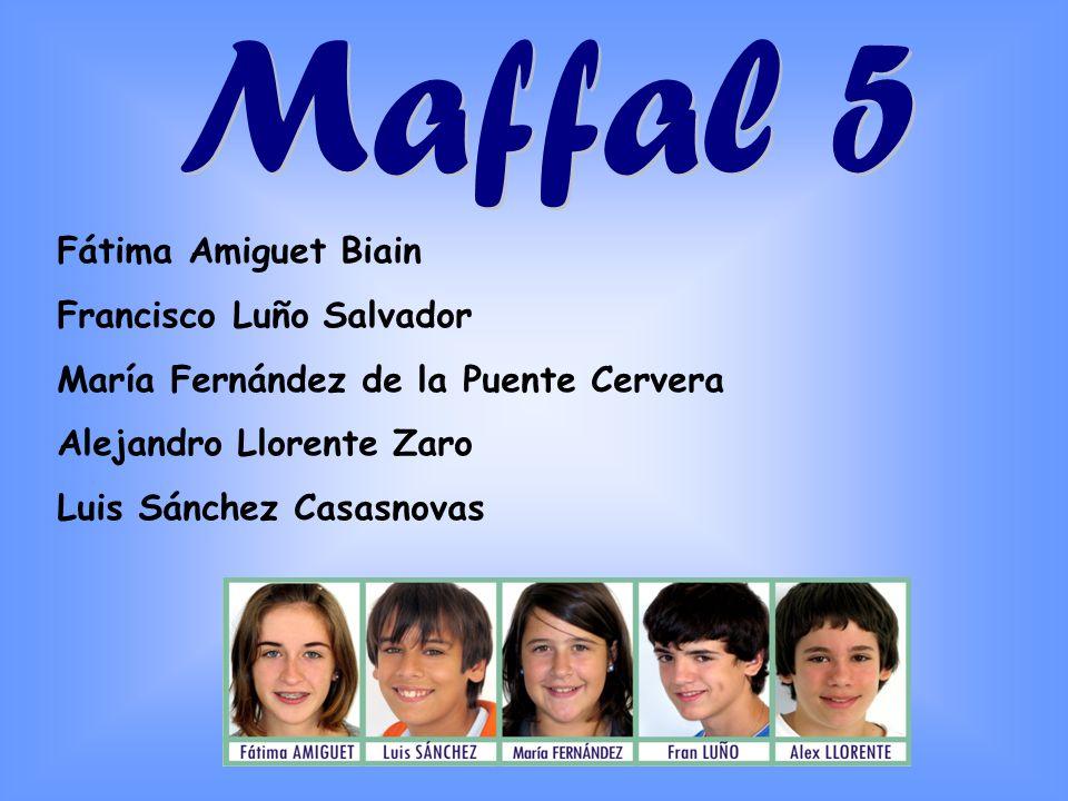 Maffal 5 Fátima Amiguet Biain Francisco Luño Salvador