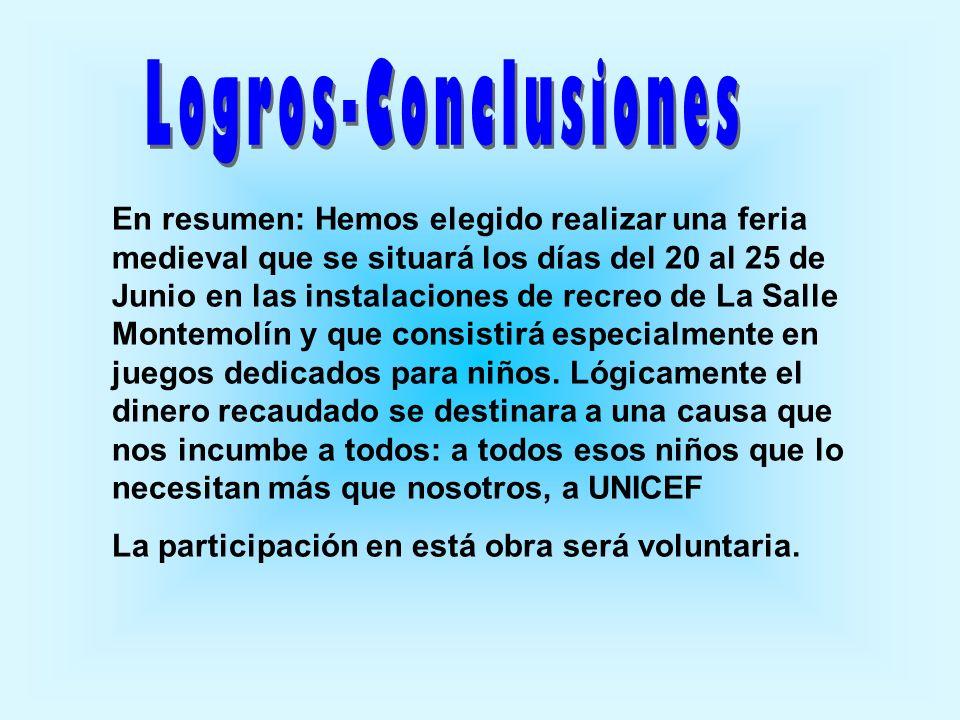 Logros-Conclusiones