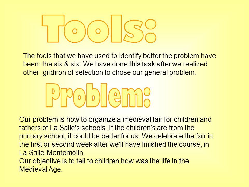 Tools: