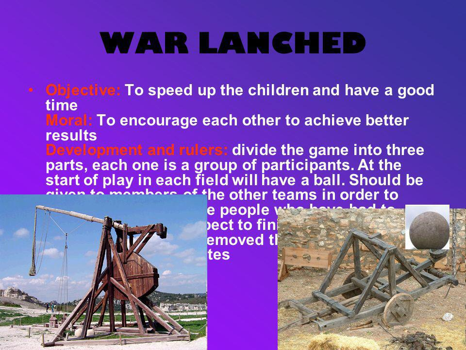 WAR LANCHED