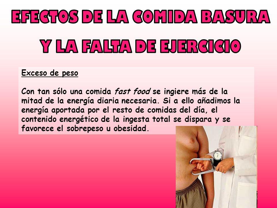 EFECTOS DE LA COMIDA BASURA
