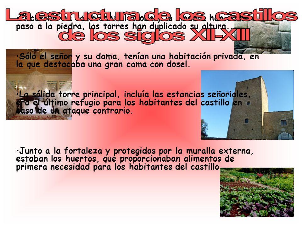 La estructura de los castillos