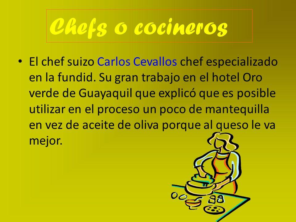 Chefs o cocineros