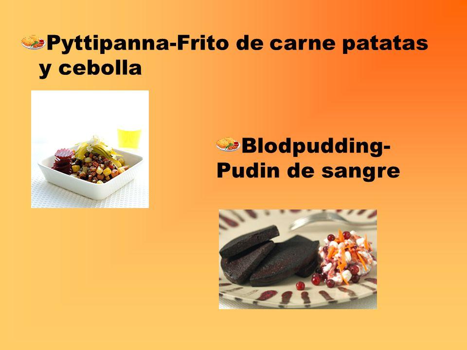 Pyttipanna-Frito de carne patatas y cebolla