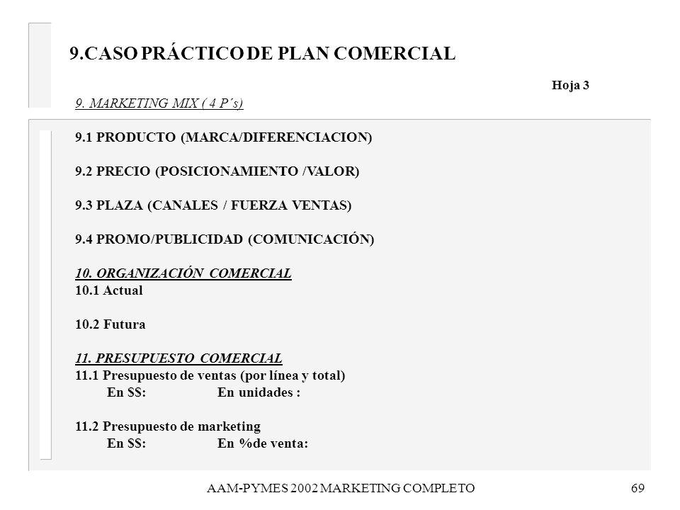 9.CASO PRÁCTICO DE PLAN COMERCIAL Hoja 3