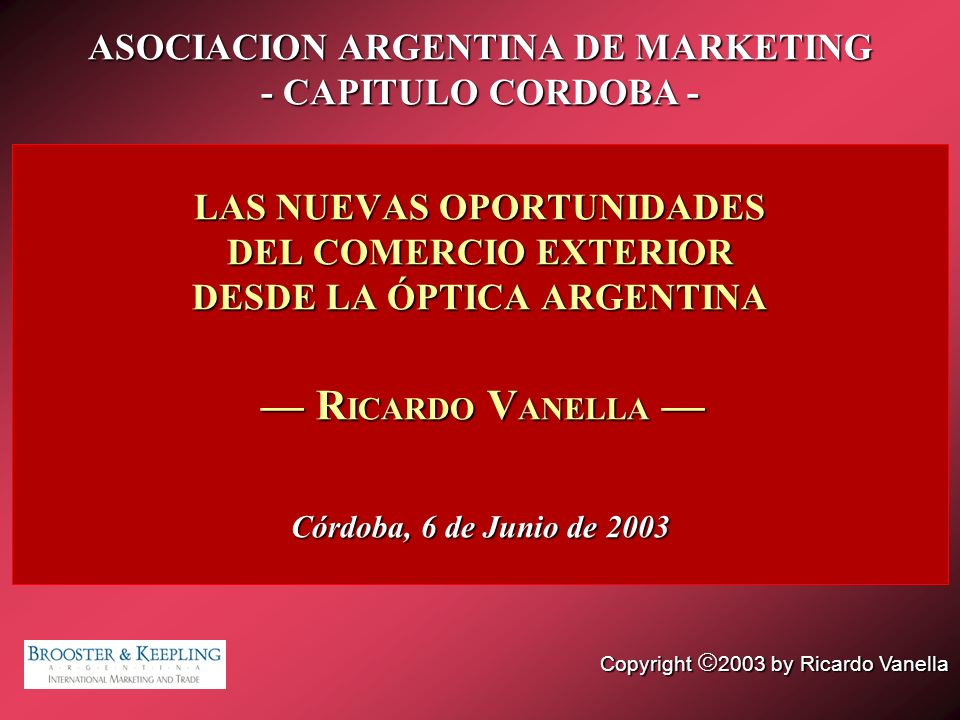 ASOCIACION ARGENTINA DE MARKETING