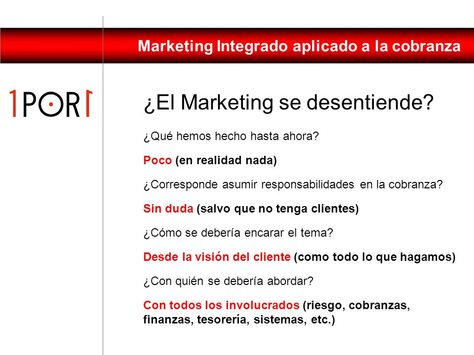 ¿El Marketing se desentiende