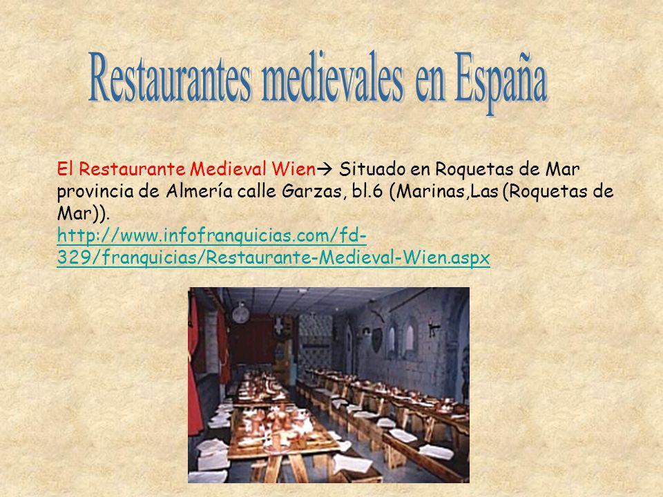Restaurantes medievales en España