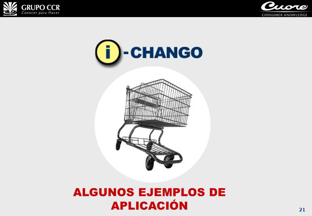 ALGUNOS EJEMPLOS DE APLICACIÓN