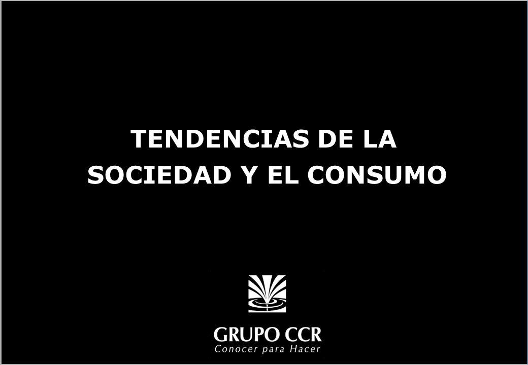 TENDENCIAS DE LA SOCIEDAD Y EL CONSUMO