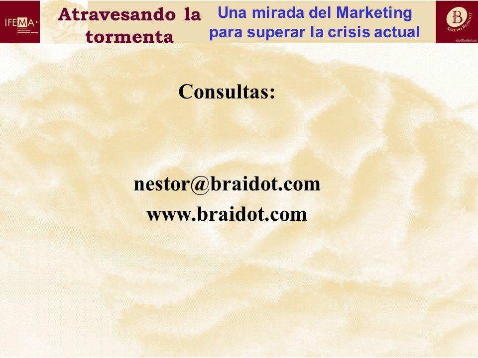 Consultas: nestor@braidot.com www.braidot.com