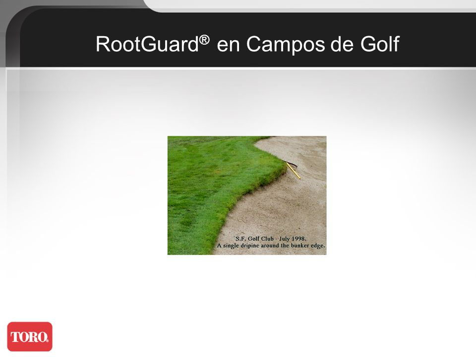 RootGuard® en Campos de Golf