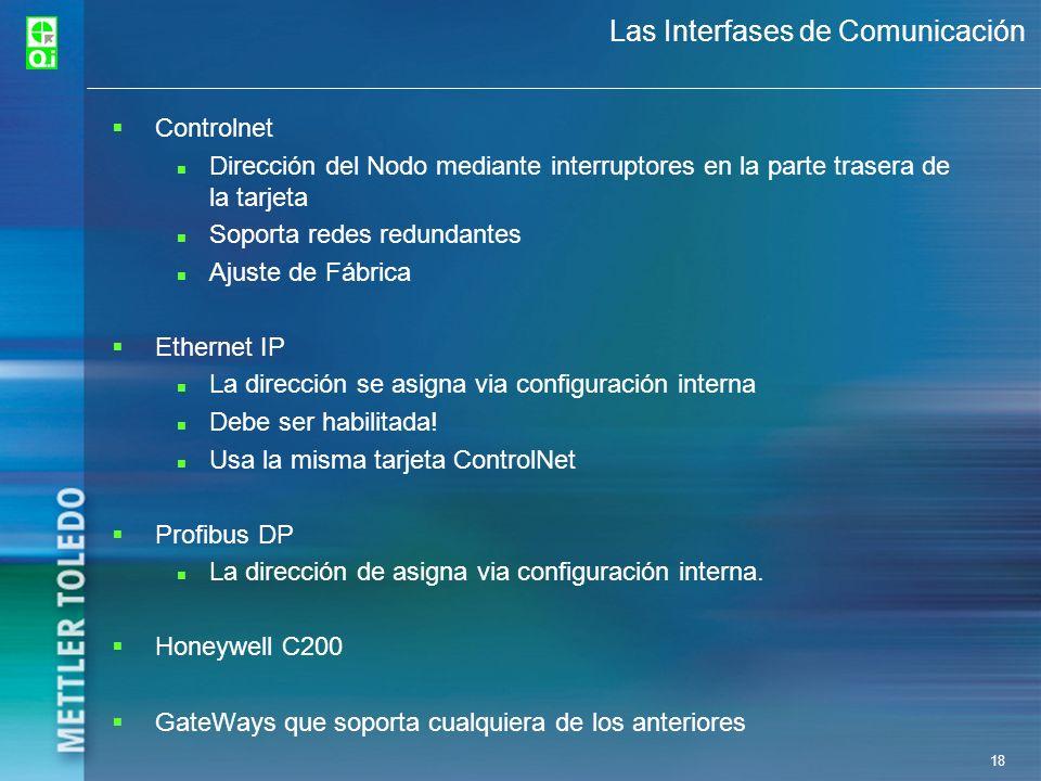 Las Interfases de Comunicación