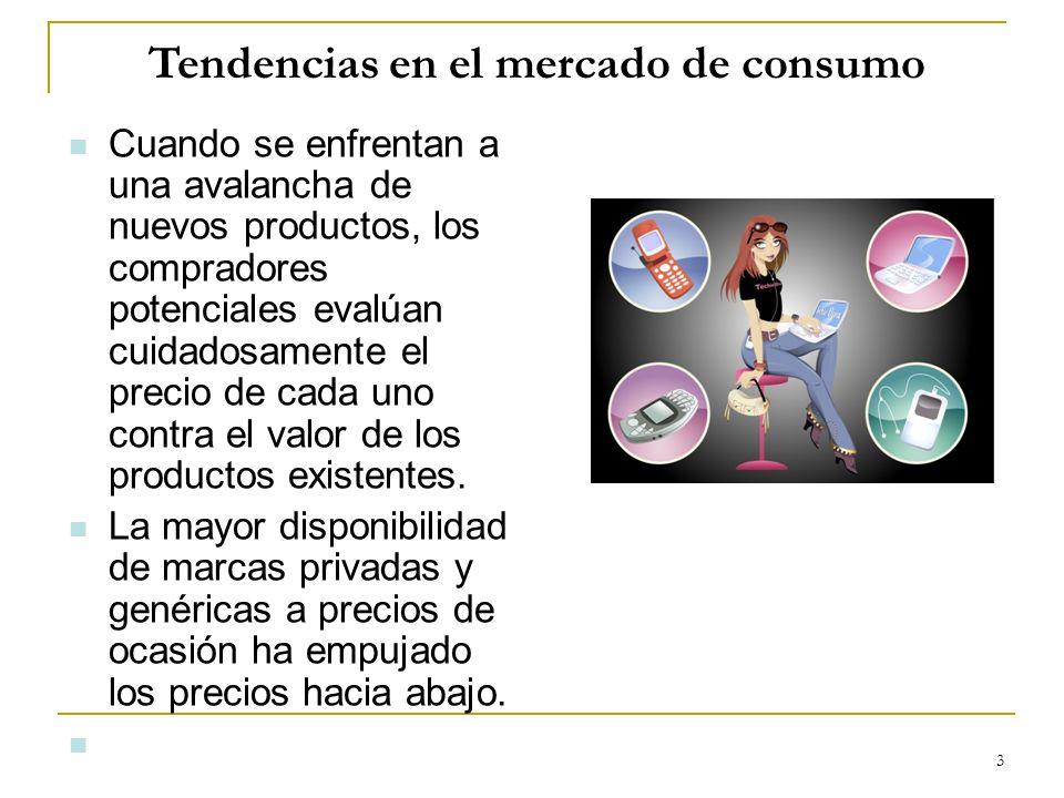 Tendencias en el mercado de consumo
