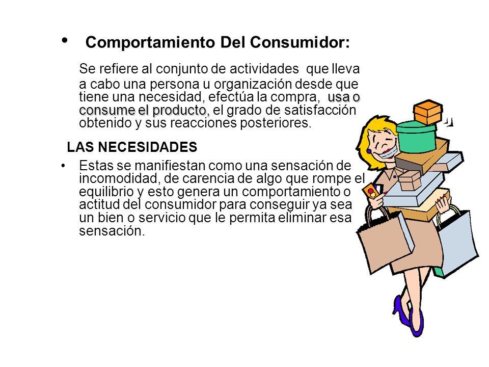 Comportamiento Del Consumidor:
