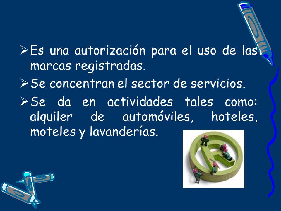 Es una autorización para el uso de las marcas registradas.