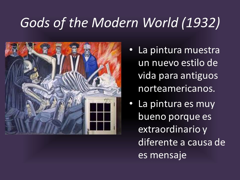 Gods of the Modern World (1932)