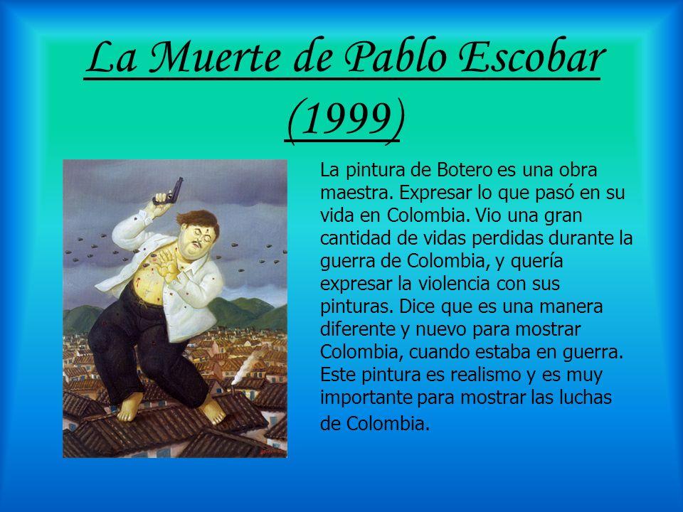 La Muerte de Pablo Escobar (1999)