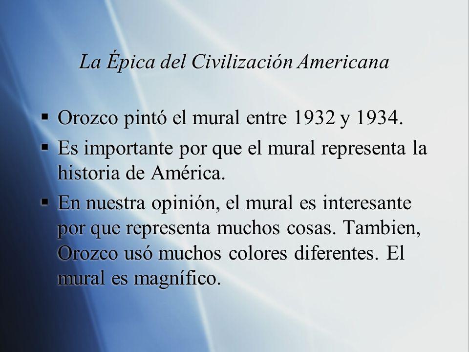 La Épica del Civilización Americana
