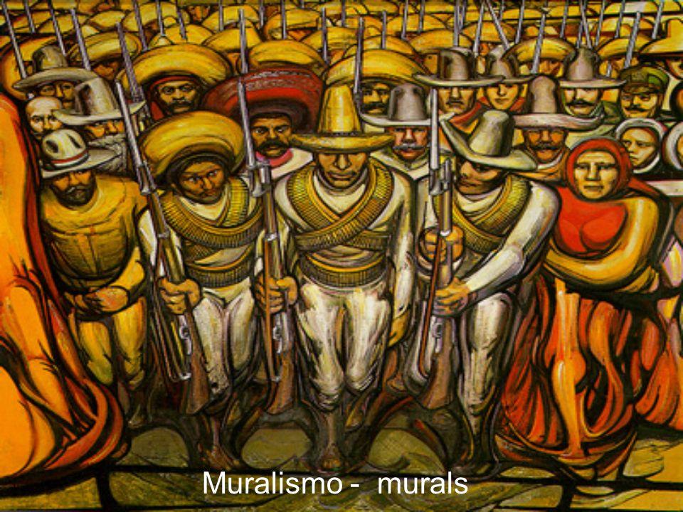 Muralismo - murals