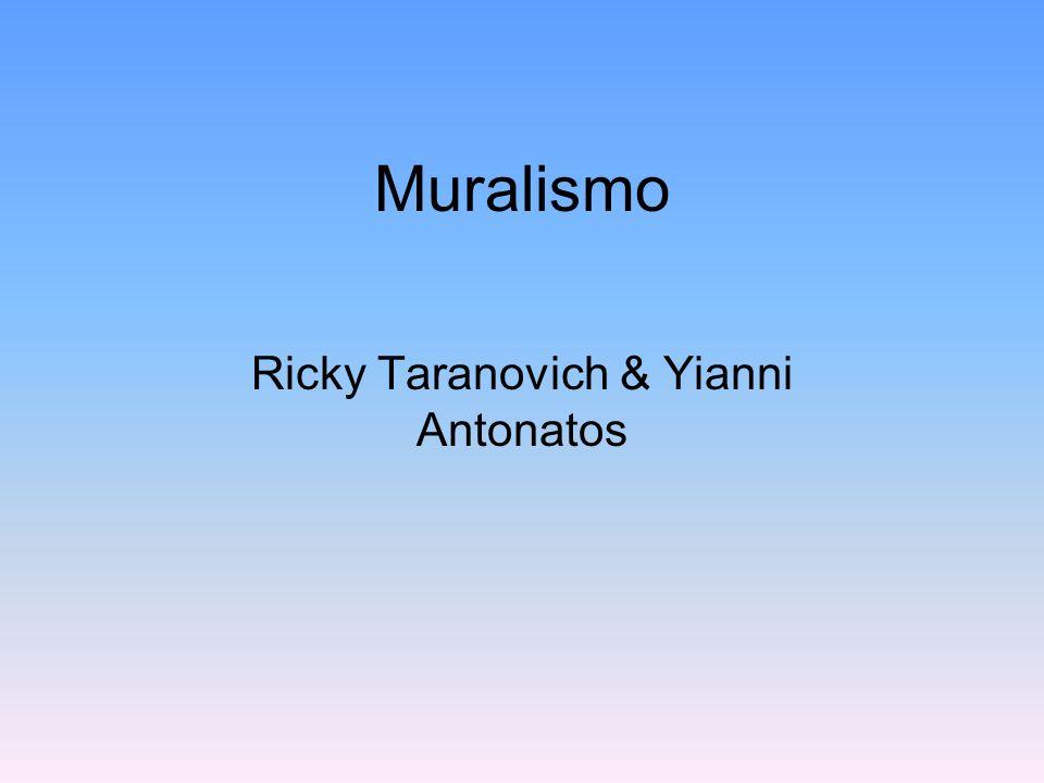 Ricky Taranovich & Yianni Antonatos