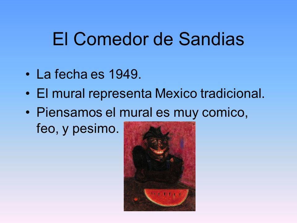 El Comedor de Sandias La fecha es 1949.