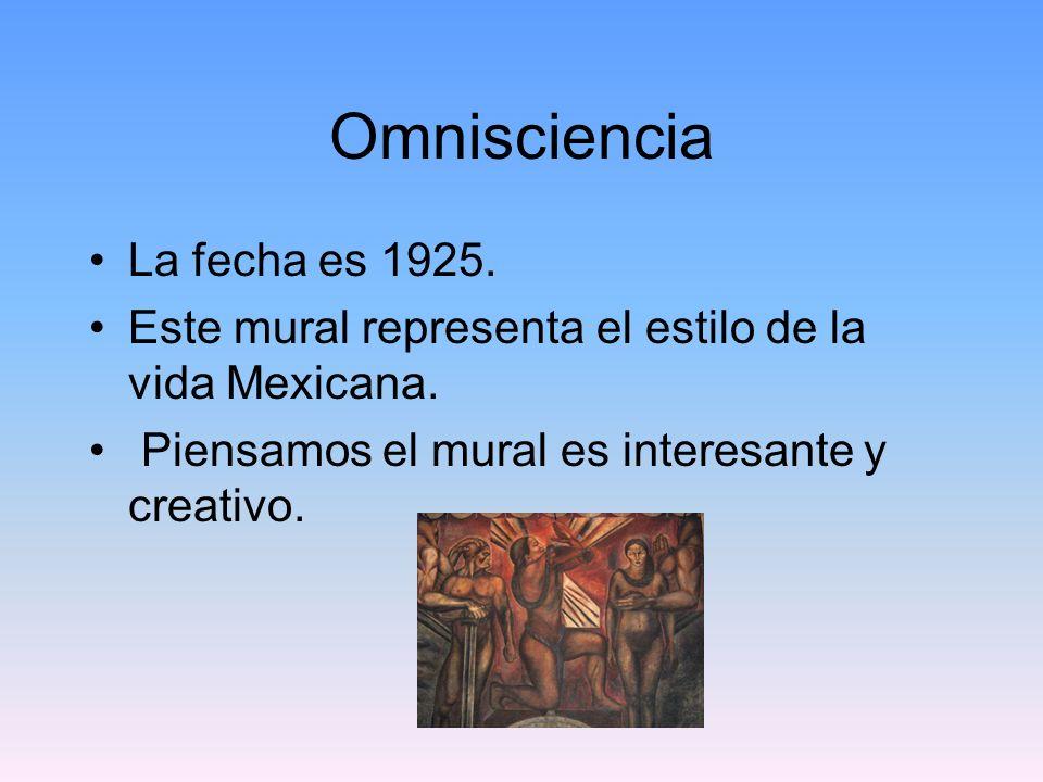 Omnisciencia La fecha es 1925.