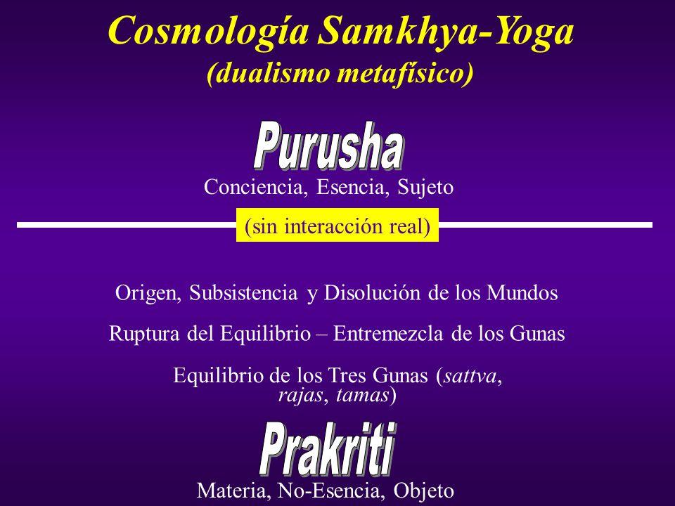 Cosmología Samkhya-Yoga (dualismo metafísico)