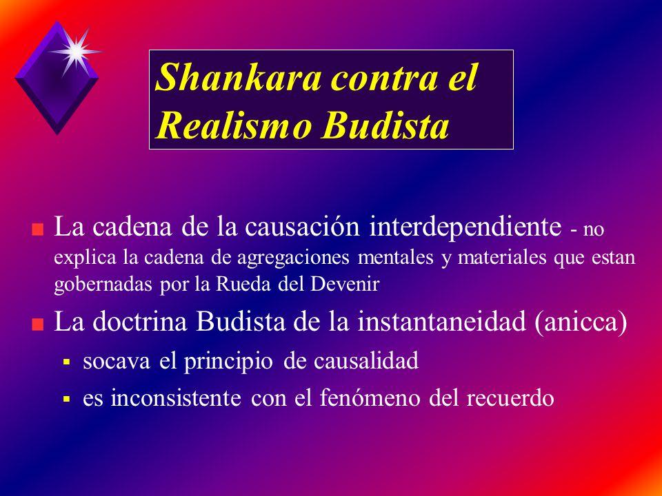 Shankara contra el Realismo Budista