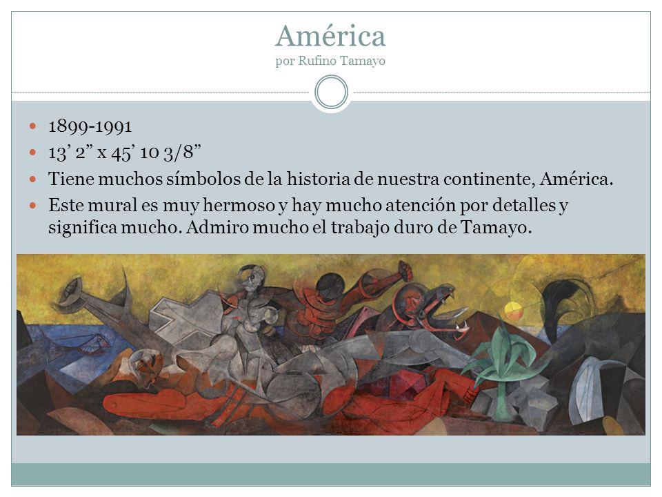 América por Rufino Tamayo