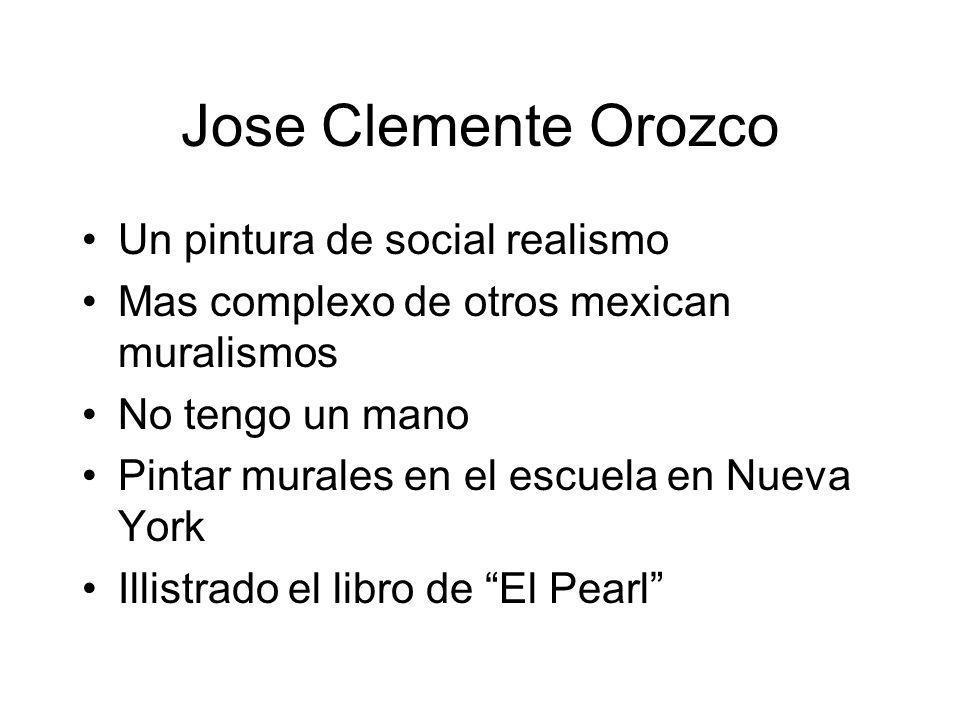 Jose Clemente Orozco Un pintura de social realismo