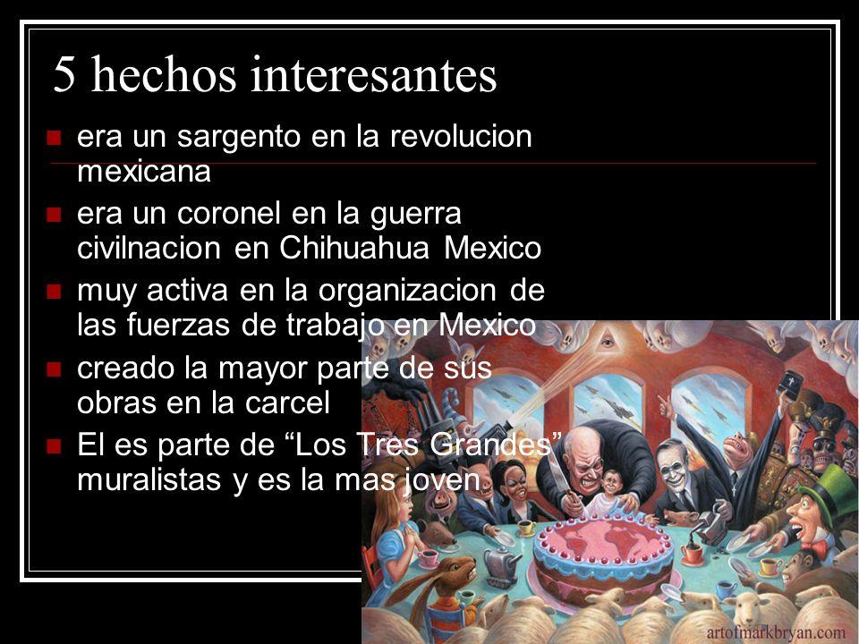 5 hechos interesantes era un sargento en la revolucion mexicana