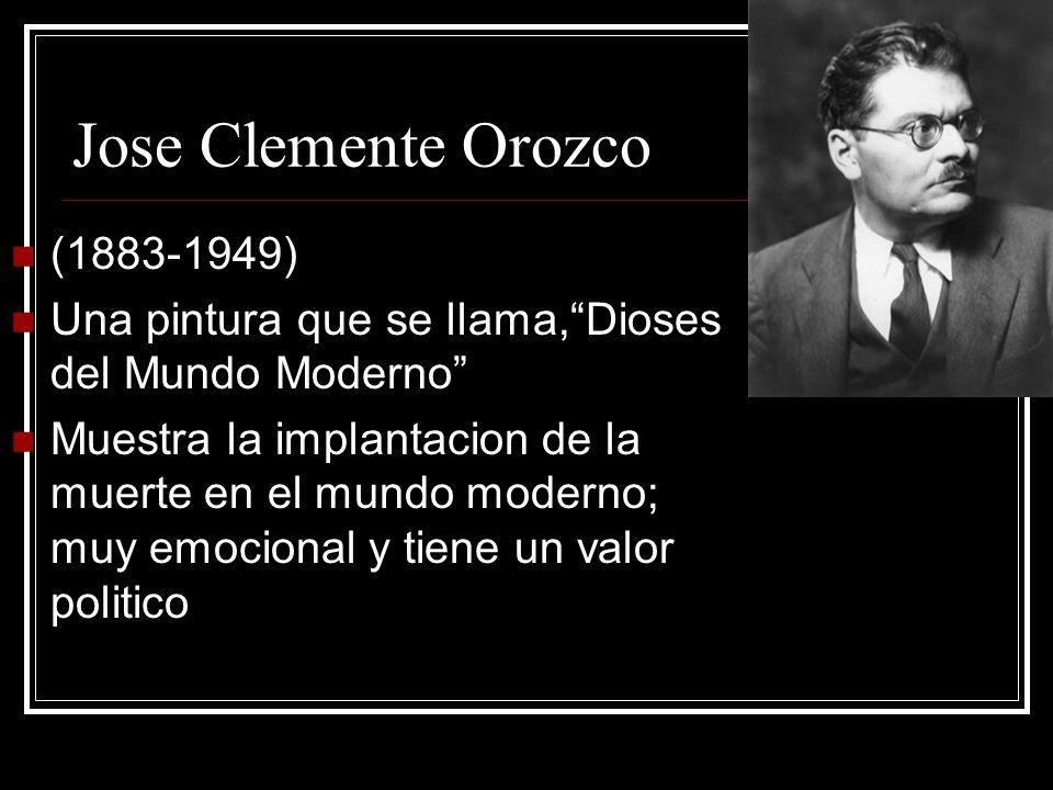 Jose Clemente Orozco (1883-1949)