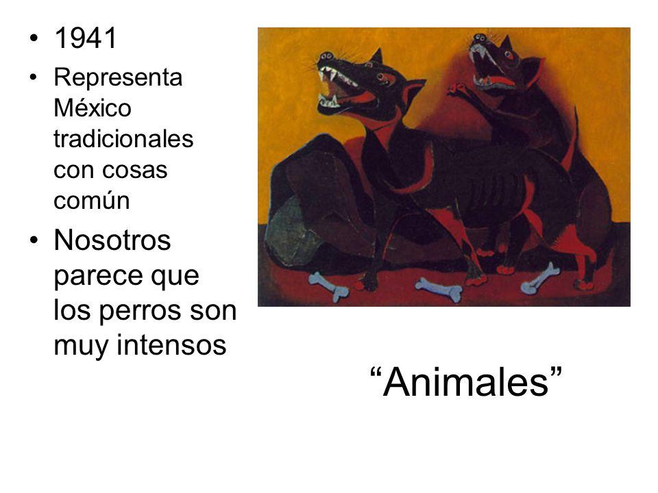 Animales 1941 Nosotros parece que los perros son muy intensos