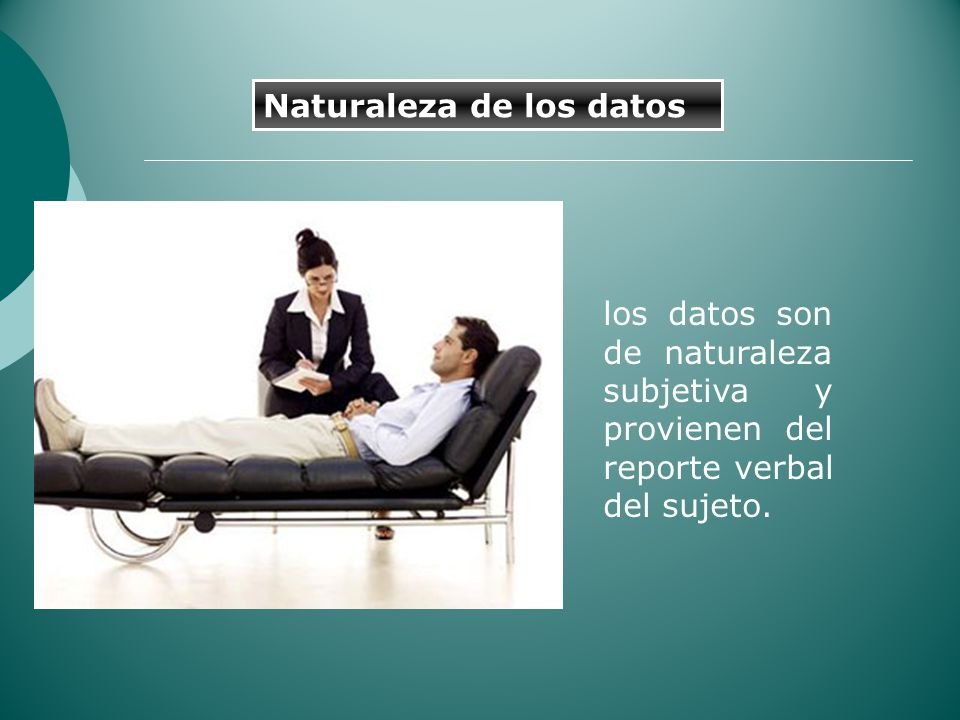 Naturaleza de los datos