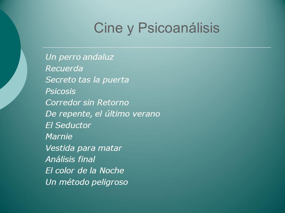 Cine y Psicoanálisis